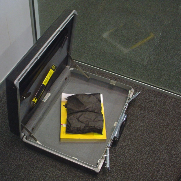 News of the World, 2013 Carbonised book, dust jacket, Yellow Pages, briefcase